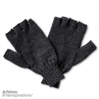 Fingerless Knit Gloves