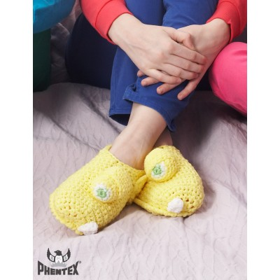 Yellow Monster Slippers