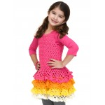 Rows o' Ruffles Dress