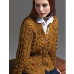 Leaves and Cables Cardigan