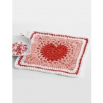 Heart Dishcloth / Blanket