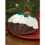 Christmas Pudding Dishcloth