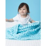Textured Grid Baby Blanket