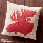 Very Amoosing Knit Pillow