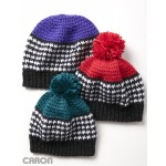 Houndstooth Bright Hat