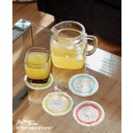Round About Crochet Coasters