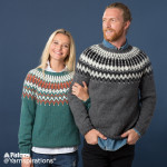 His and Hers Knit Yoke Sweaters