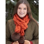 Snowdrift Cable Scarf