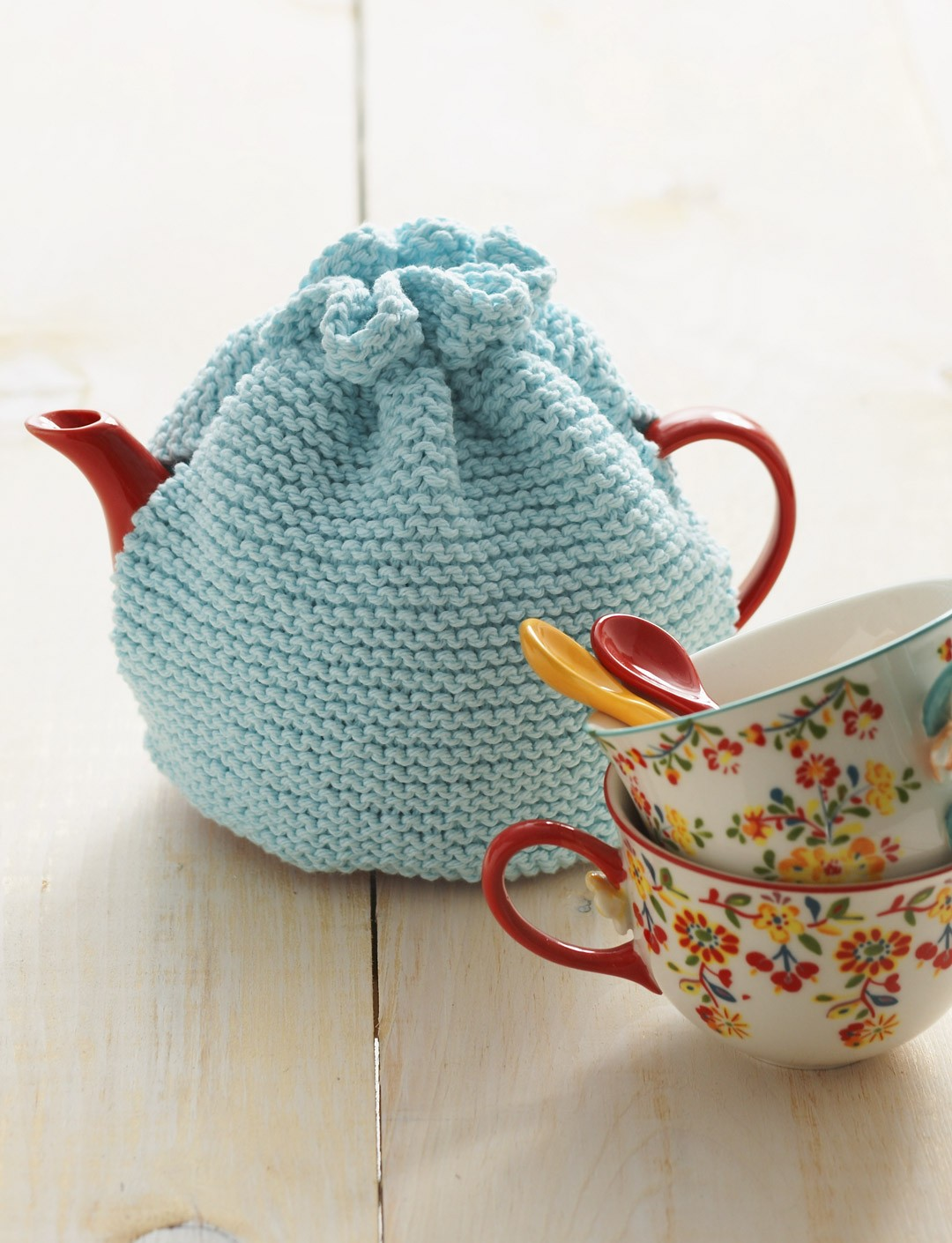 Lily tea cozy knit pattern yarnspirations for Tea cosy template