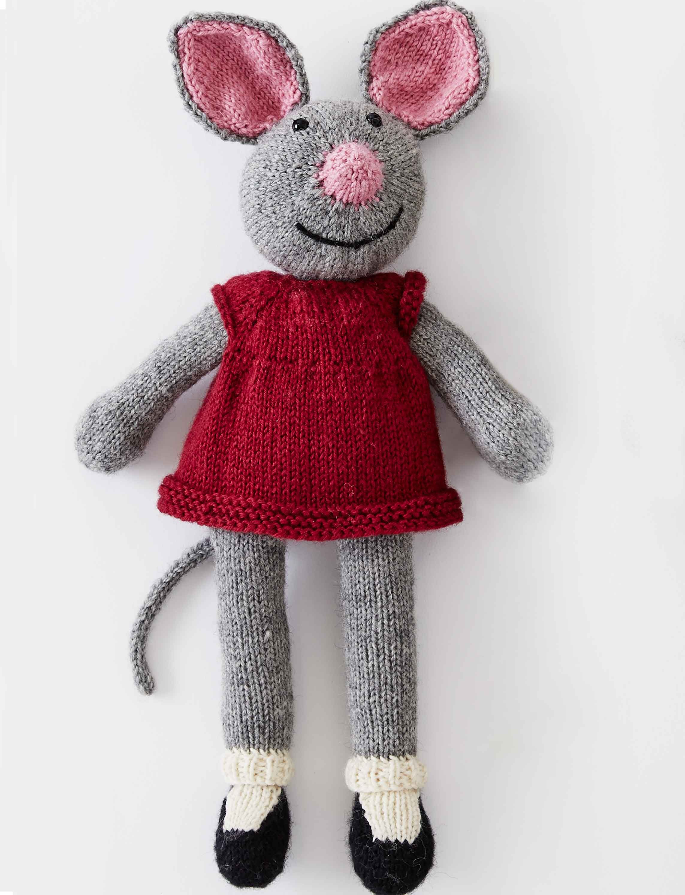 Patons Country Mouse, Knit Pattern | Yarnspirations