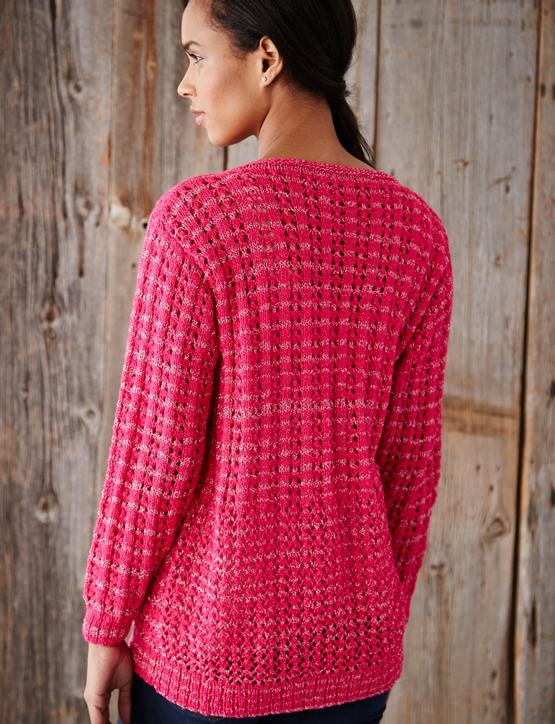 Patons Mixed Stitch Cardigan, Knit Pattern | Yarnspirations